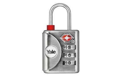 Picture of Yale Inspection indicator Luggage TSA Combination Lock - YTP1/32/119