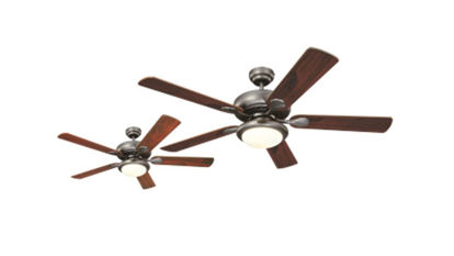 "Picture of Westinghouse Ceiling fan Euro Swirl, 5-blade 52"" Brushed Nickel"