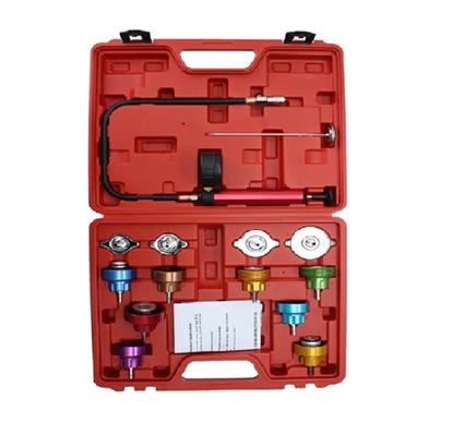 Picture of Licota Cooling System Radiator Pressure Tester Leak Detector Gasket Test Kit Set, ATP-2107