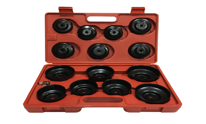 "Picture of Licota 3/4"" Drive Cup-Type Oil Filter Wrench Set (Black), ATA-0291"