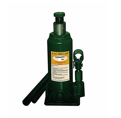Picture of S-Ks Tools USA JM-10050SH 50 Tons Hydraulic Bottle Jack (Green)