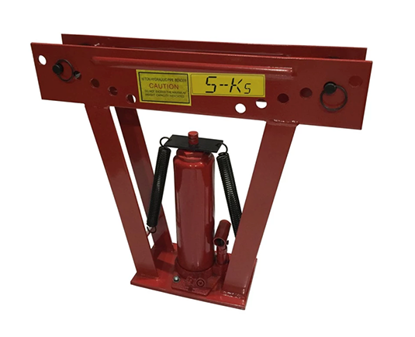 """Picture of S-Ks Tools USA JM-8012PB-2"""" Heavy Duty 12Tons Hydraulic Pipe Bender (Black/Red)"""