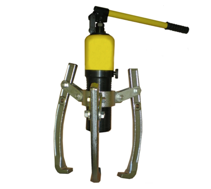 Picture of S-Ks Tools USA JMHHL-10 Heavy Duty 10 Tons 3 Arms Hydraulic Gear Puller (Black/Yellow)