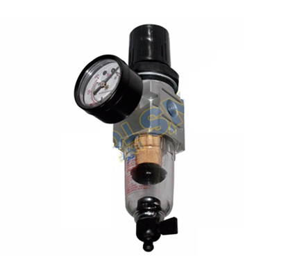 """Picture of HB FR202 Air Filter Regulator 1/4"""" NPT (Compacty Type) (Silver)"""
