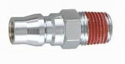 "Picture of THB 1/4"" Zinc Quick Coupler Plug - Male End"