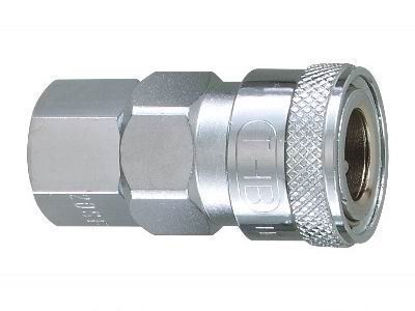 "Picture of THB 3/8"" Steel Quick Coupler Body - Female End"