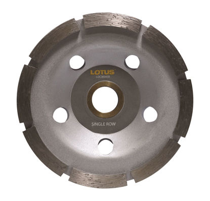 Picture of Lotus  Diamond Cup Wheel (Single) LDCW04SR