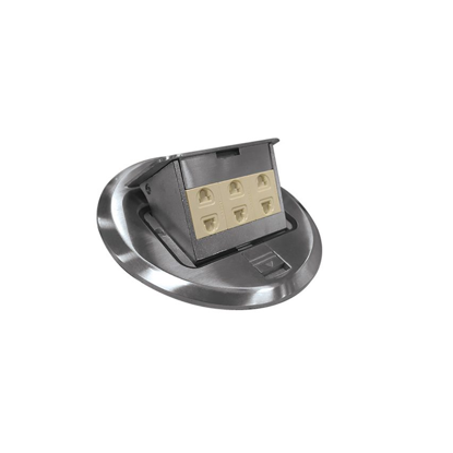 Picture of Round Floor Receptacle Zinc (Classic) RCF3