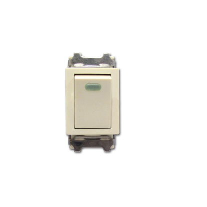 Picture of Royu 1 Way Switch with LED  (Classic) RCS7