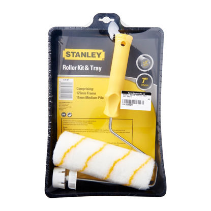 "Picture of STANLEY PAINT ROLLER COMPLETE 7"" & TRAY"