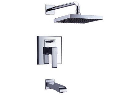 Picture of Delta In-Wall Tub & Shower, W/quadrate Showerhead 26075