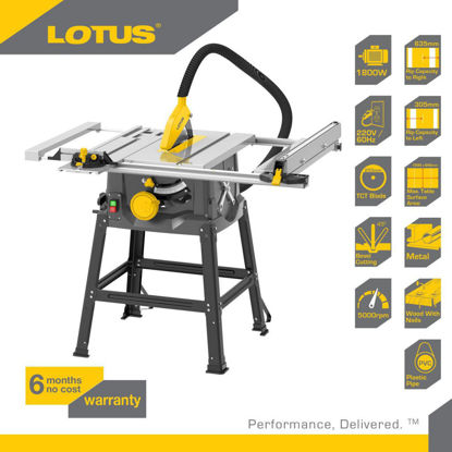 Picture of Lotus Table Saw 1800W LTST1800X