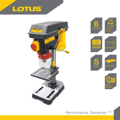Picture of Lotus Drill Press 20MM 1-1/2HP/900W LTDP900