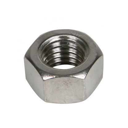 Picture of 304 Stainless Steel Hex Nut  - Metric Size