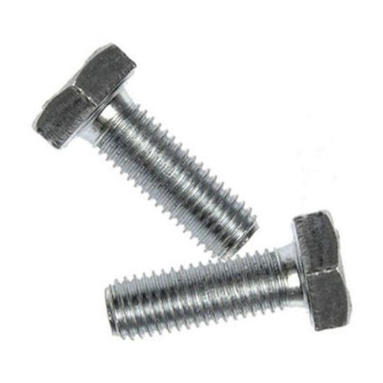 Picture of Galvanized Hexagonal Cap Screw, G.i. Hex Cap Screw, Full Thread Hex Tap Bolts