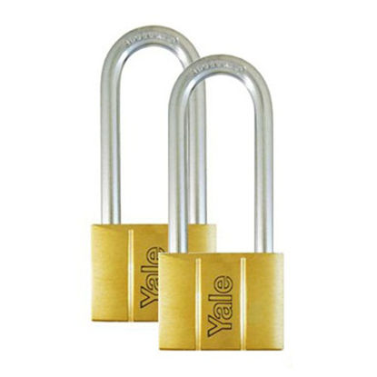 Picture of Brass Padlocks Key Alike 2 Pieces, Multi-Pack V140.40LS60KA2