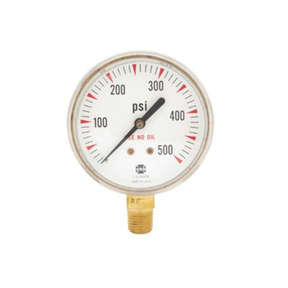 Picture of Harris Acetylene Gauge 500 PSI, 6092