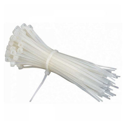 """Picture of AME'S Cable Tie 2.5mm x 100 (100pcs/Pack) 4"""", 2.5mm x 150, 5"""" (100 pcs/pack), 2.5mm x 200, 6"""" (60 pcs/pack), 4.8mmx 350, 16"""" (50 pcs/pack), S6674"""