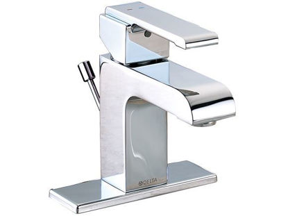 Picture of Delta Arzo Series Single Hole Faucet - 4 Inches Plate