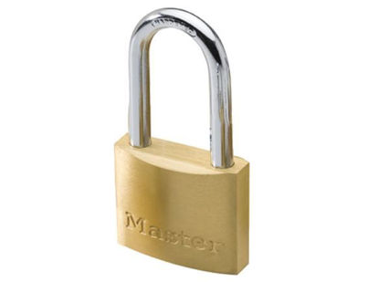 Picture of Master Lock 40MM Long Shackle Brass Padlock, MSP1902DLF