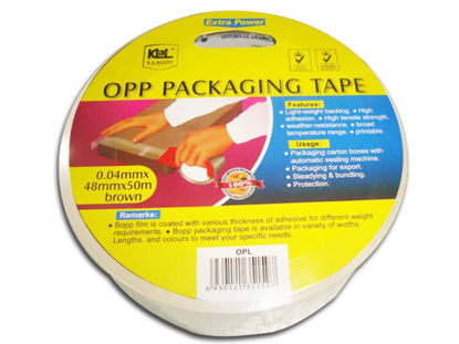 Picture of KL & LING Int Inc Packaging Tape KIOPLCLR