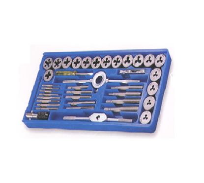 Picture of S-Ks Tools USA 40 Pcs. Tap & Die Set - SAE Combination of NC & NF, TD40SM