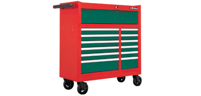 "Picture of Hans  9913HQ-42  42 "" Tool Cabinet - 13 Drawers Roll - Wagon"