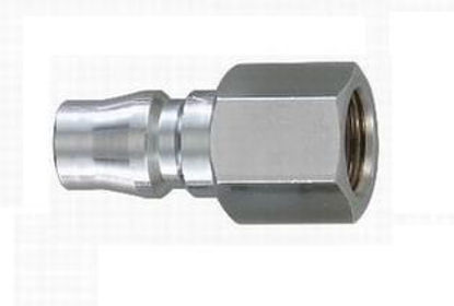 "Picture of THB 1/2"" Steel Quick Coupler Plug - Female End"