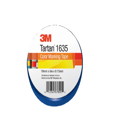 Picture of 3M Tartan electrical tape- Blue