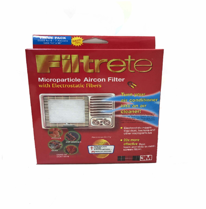 "Picture of 3M Filtrete (TM) Aircon filter value pack 15"" x 90"""