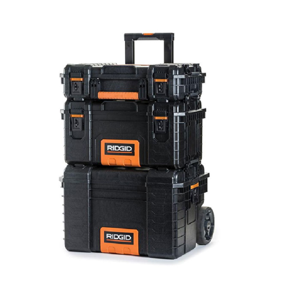 Picture of Ridgid Professional Tool Storage Cart and Organizer Stack