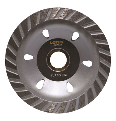 Picture of Lotus Diamond Cup Wheel (Rim) LDCW04R