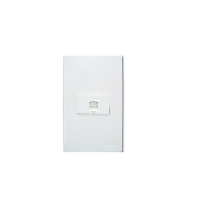 Picture of Royu 1 Gang Telephone Modular Jack WD211