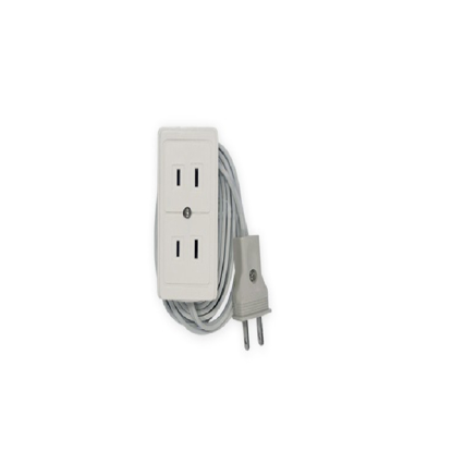 Picture of Firefly 2 Gang 2-Pin Convenience Outlet ECSFO402