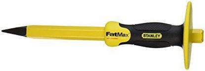 Picture of Stanley Concrete Chisel With Bi-Material Hand Guard ST16329