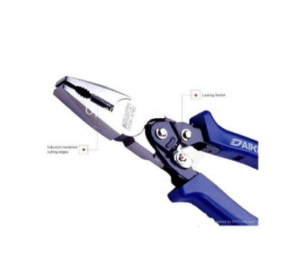 Picture of Daiken Hi Leverage Interchangeable Head Combination Pliers DCOM-80WQ