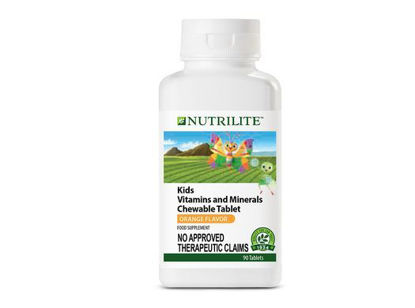 Picture of Nutrilite Kids Vitamins And Minerals Chewable Tablet