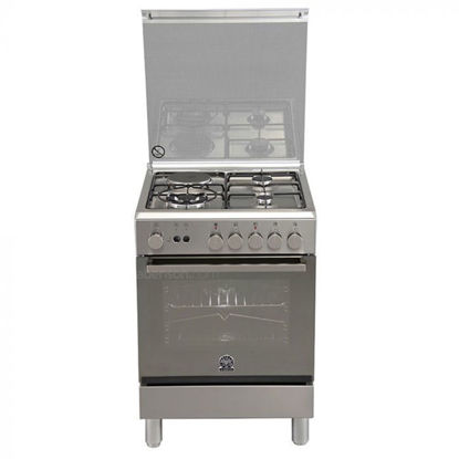 Picture of La Germania TU651 22DX 60cm range, 3 Aluminium Gas Burners + 1 Electric Hotplate │ With Rotisserie