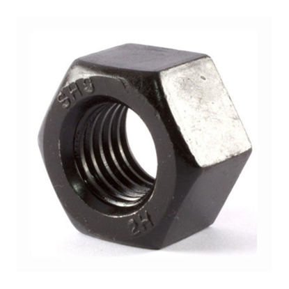 Picture of Extreme-Strength Steel Extra-Wide Hex Nut, Grade 2H, 2H Hex Nut