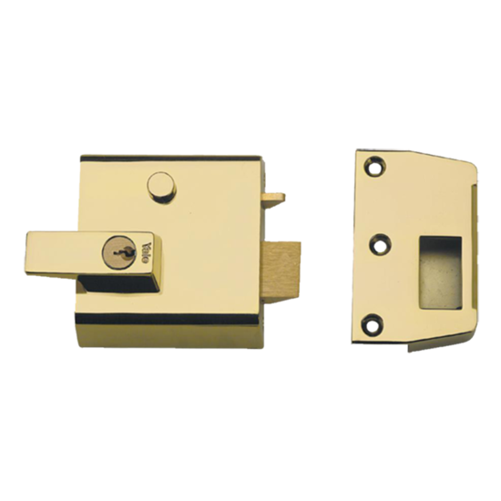Picture of Rim Locks, Double Cylinder Security Latch P1