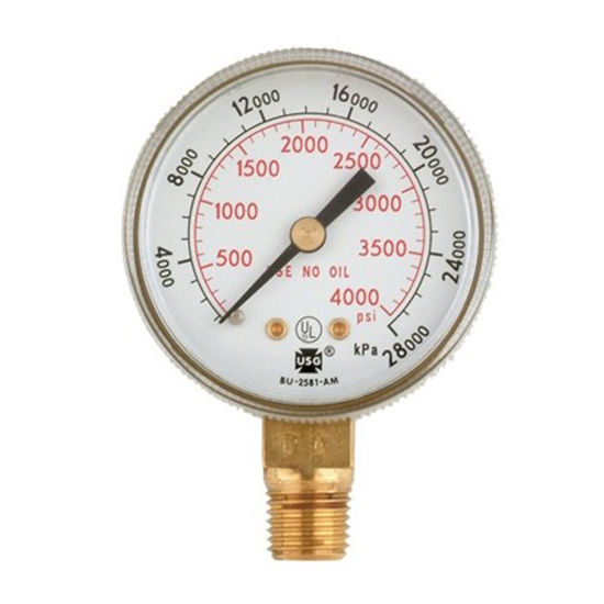 Picture of Harris Oxygen Gauge 4000 PSI, 6102