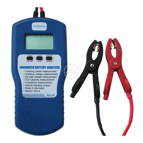 Picture of Trisco Innovated Battery Analyzer, IBA-100