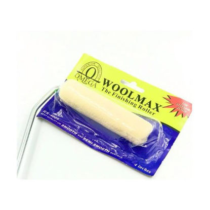 """Picture of Omega Mini Roller-Woolmax Finishing Roller Set and Refill (4"""", 6"""", 7"""", 9""""), RR-4009"""