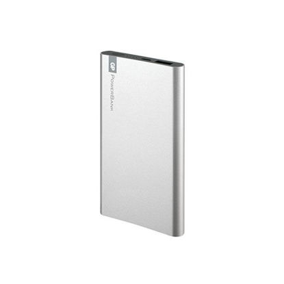 Picture of GP Portable Power Bank 5000 MAH Silver, GPGPACCFPO5001